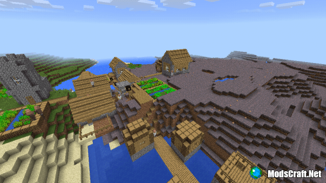 Деревня в грибном биоме [0.13.x]