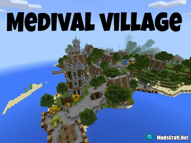 Medival village [Карта от подписчика]