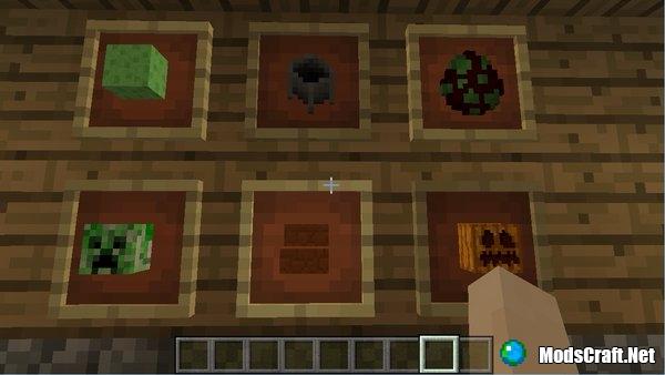 В Minecraft PE появятся рамки и ступени из песчаника!