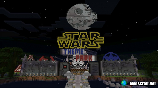 карта star wars для minecraft pe