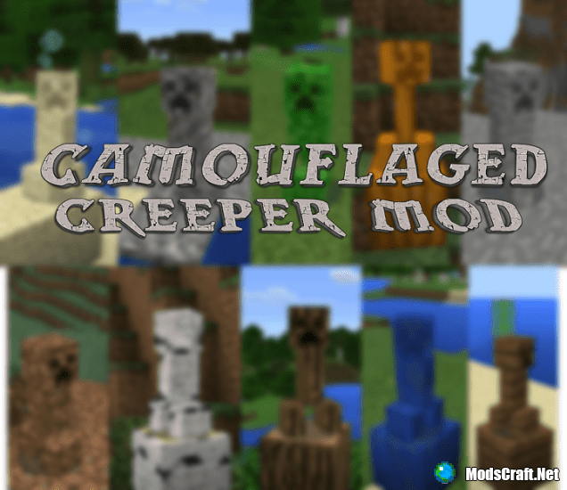 Мод Camouflaged Creeper 0.13.1