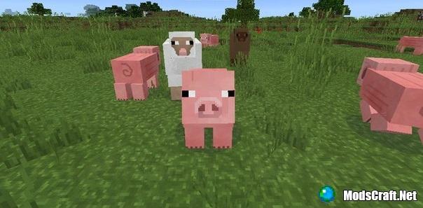 Обычный текстур Пак Minecraft