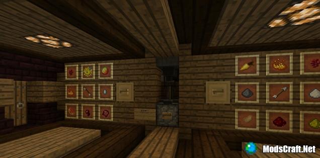 Карта Redstone House [Редстоун/Творчество]