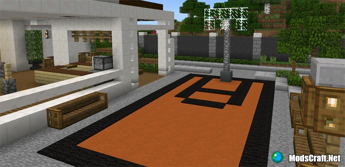 Большой Особняк Карта для Minecraft 1.7.10/1.7.9/1.7.5/1.7 ...
