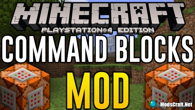 Мод Command Blocks 0.15.9/0.15.6/0.14.3