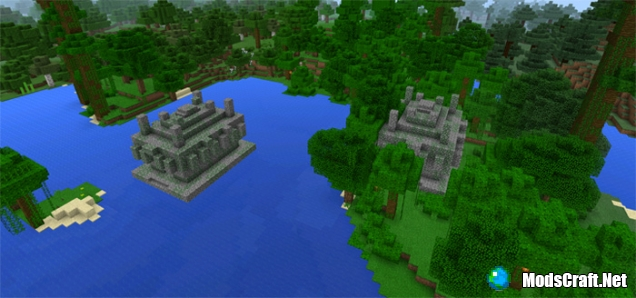 Два Храма в джунглях возле спауна [0.15.x]