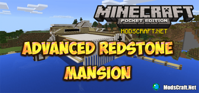Карта Advanced Redstone Mansion [Редстоун]