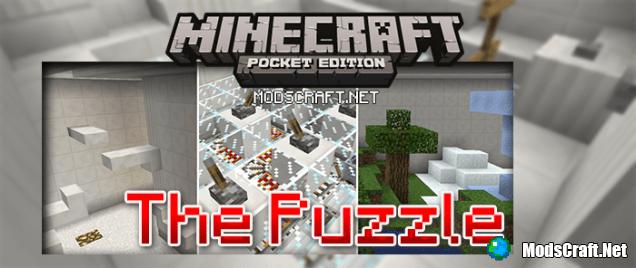 Карта The Puzzle Паркур/приключение | Карты для Minecraft PE