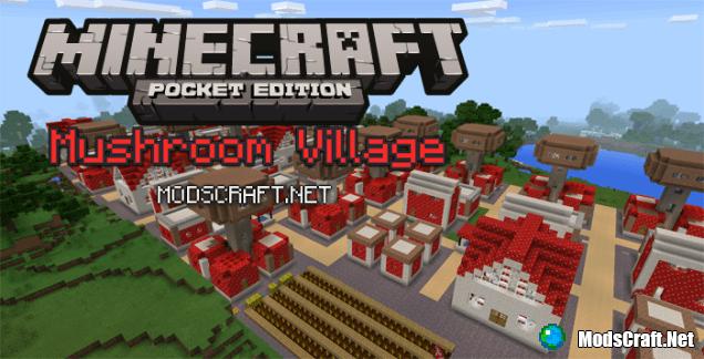 Карта Mushroom Village [Творчество]