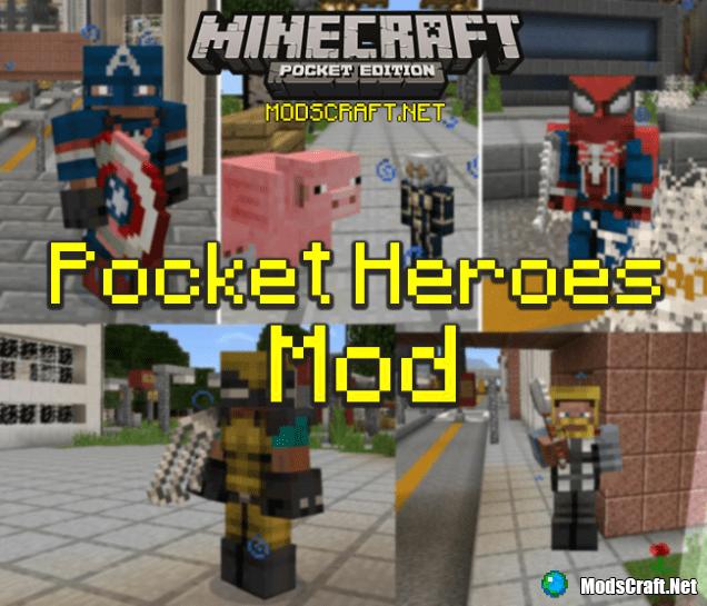 Мод Pocket Heroes 0.16.1/0.15.6/0.15.4