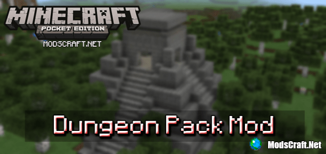 Мод Dungeon Pack 0.15.6/0.15.4/0.15.3