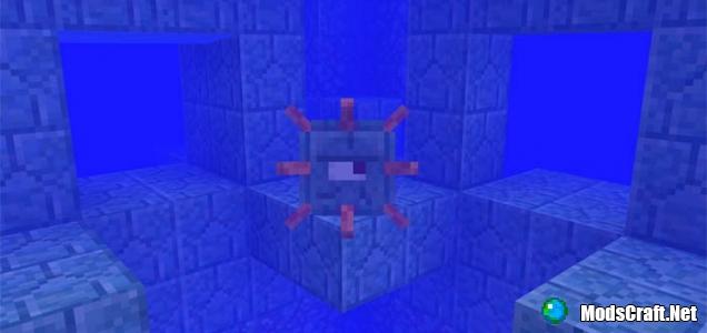Подводная крепость около спавна [0.16.x]
