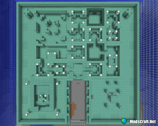 Подводная крепость [Гайды по Minecraft PE]