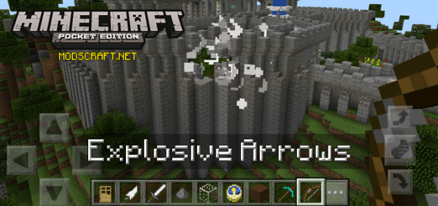 Мод Explosive Arrows 0.16.0