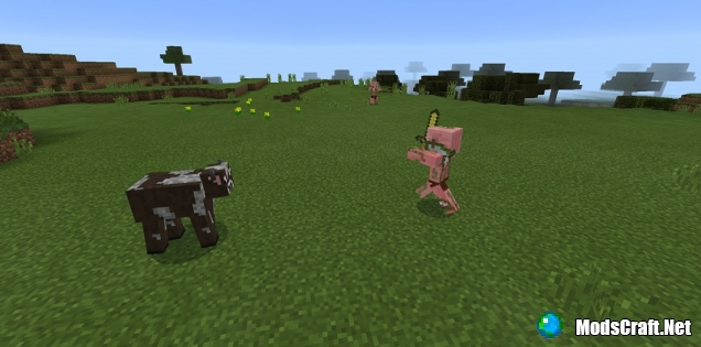 Мод Telekinetic Cows 0.16.0