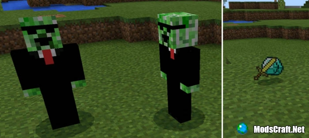 Мод Humanoid Creeper Friend 0.16.0