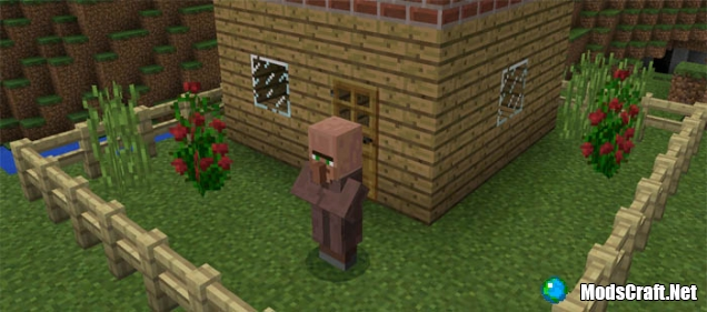 Мод Villager Agent 0.17.0/0.16.1/0.16.0