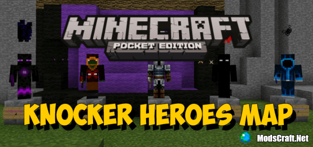 Карта Knocker Heroes (Карта-мод) [Мини-игра]