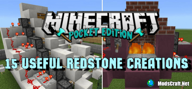 Карта 15 Useful Redstone Creations [Редстоун]