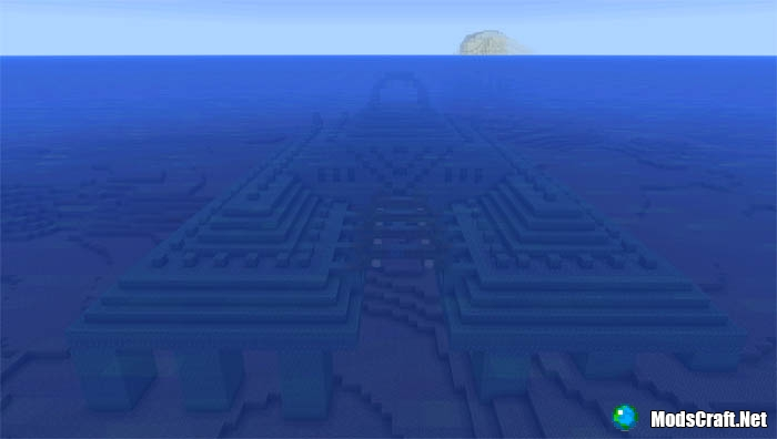 Подводный храм возле спауна [0.16.x]