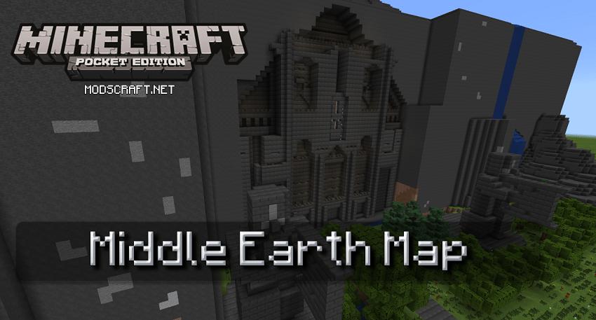 Карта Middle Earth [Творчество]