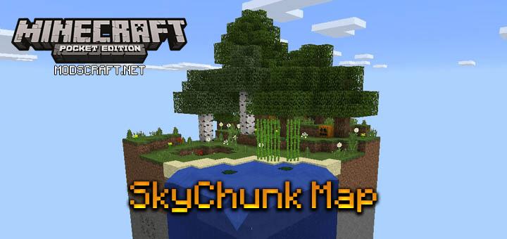 Карта SkyChunk [Выживание]