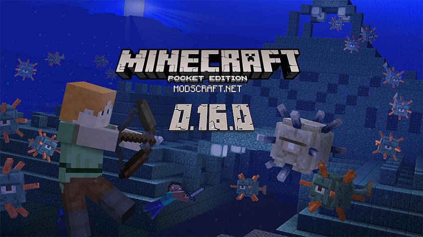 Official minecraft pe 0. 16. 0 beta build 1 apk gameplay trailer +.