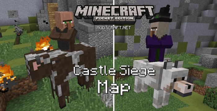 Карта Castle Siege [Карта-мод/мини-игра] 0.17.0/0.16.0