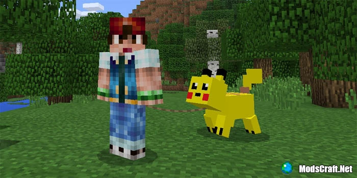 Мод Pikachu Pig 0.17.0/0.16.1/0.16.0