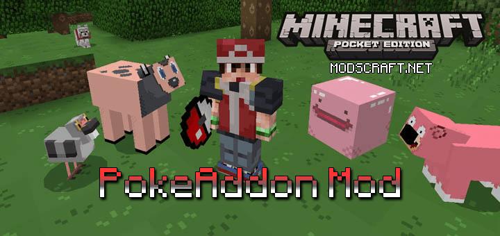 Мод PokeAddon 0.16.1/0.16.0