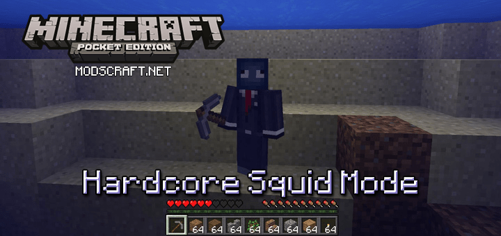 Мод Hardcore Squid Mode 0.16.0
