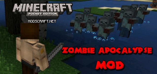 Мод Zombie Apocalypse 1.0/0.17.0/0.16.1