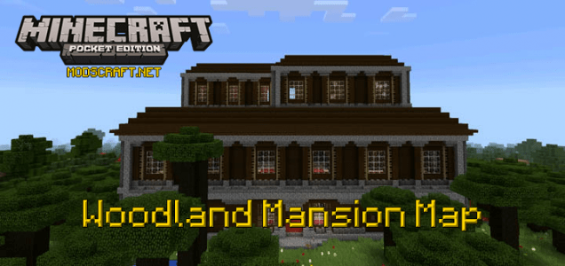 Карта Woodland Mansion [Творчество]