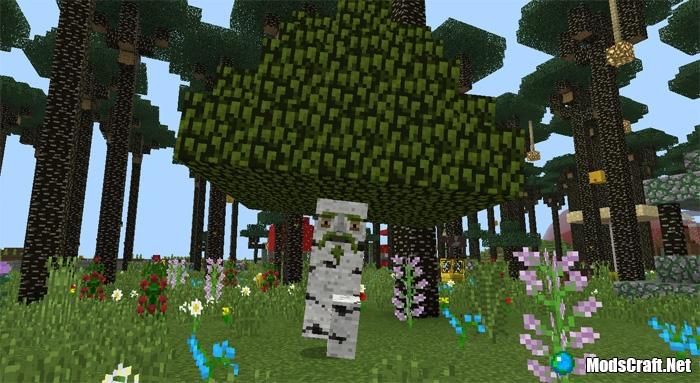 Сумеречный лес (Twilight Forest Mod) для Minecraft 1.7.10.