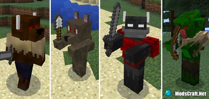 Мод Fantasy Creatures Battle 0.16.1/0.16.0