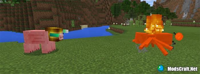 Мод Pig Bot 0.17.0/0.16.1/0.16.0
