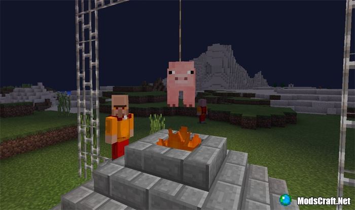 Мод Medieval Mobs 0.16.1/0.16.0