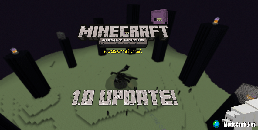 Minecraft PE 1.0 [The Ender Update]