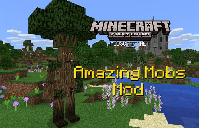 Мод Amazing Mobs 1.0/0.17.0/0.16.1/0.16.0