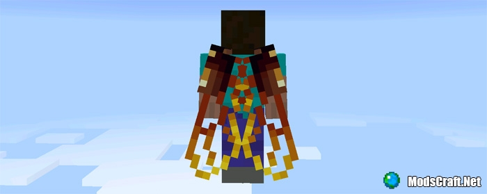Мод 13 Custom Elytra Wings 1.0/0.17.0