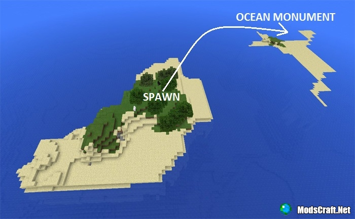 Остров для выживания и подводная крепость [1.0/0.17.0]