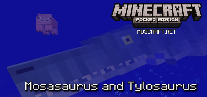 Мод Mosasaurus and Tylosaurus 1.0/0.17.0/0.16.1