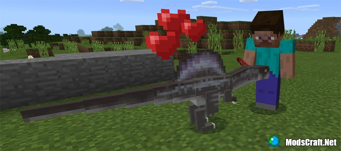 Мод Spinosaurus 1.0/0.17.0/0.16.1
