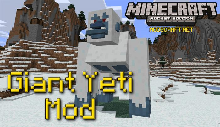Мод Giant Yeti 1.0/0.17.0/0.16.1