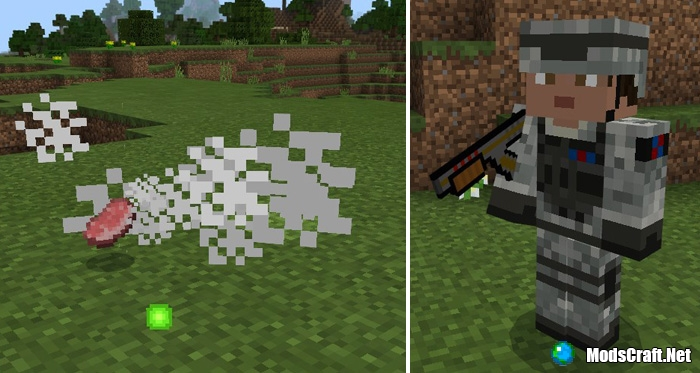 Мод Modern Weapons 1.0/0.17.0/0.16.1