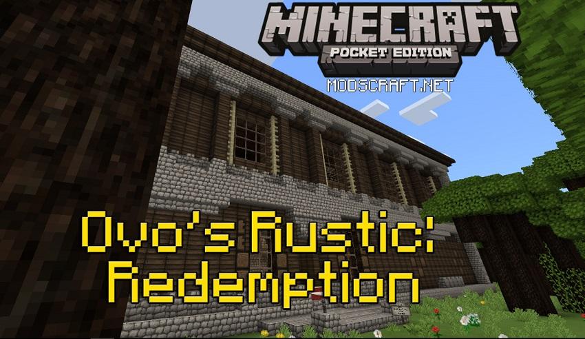 Текстур пак Ovo's Rustic Redemption 1.0/0.17.0