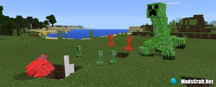Мод Mutant Creeper 1.0/0.17.0/0.16.1