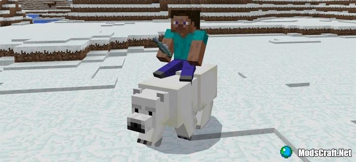 Мод Tameable Polar Bears 1.0/0.17.0