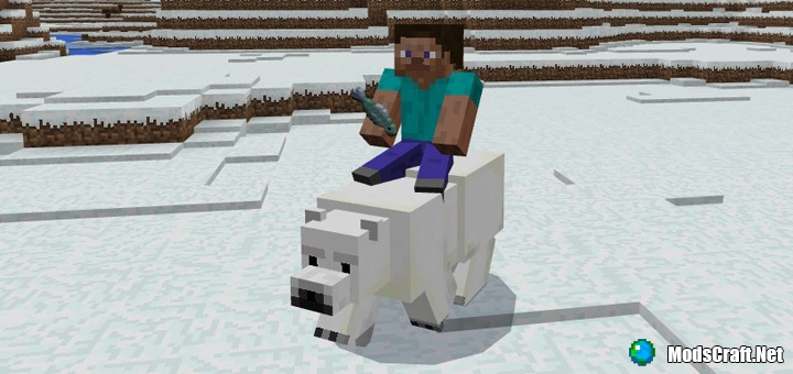 Мод Tameable Polar Bears 1.0/0.17.0