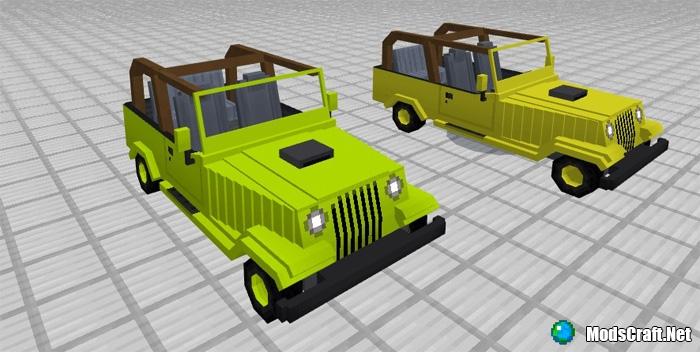 Мод Jeeps Addon 1.1/1.0/0.17.0